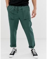 Pantalon cargo vert foncé ASOS DESIGN