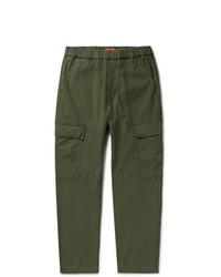 Pantalon cargo vert foncé Barena