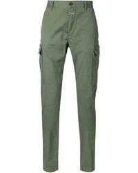 Pantalon cargo vert foncé Closed