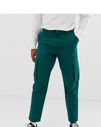Pantalon cargo vert foncé Collusion