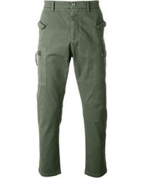 Pantalon cargo vert No.21
