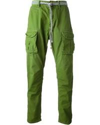 Pantalon cargo vert Scotch & Soda