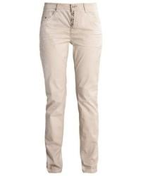 Pantalon carotte beige Esprit