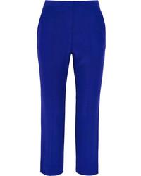 Pantalon carotte bleu