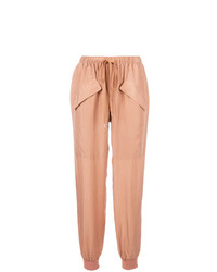 Pantalon carotte brun clair See by Chloe