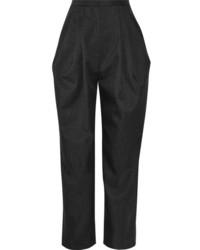 Pantalon carotte gris fonce original 10583891