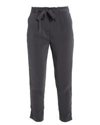 Pantalon carotte gris foncé Even&Odd