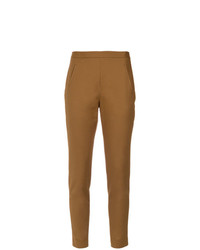Pantalon carotte marron clair Andrea Marques