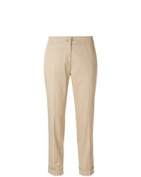 Pantalon carotte marron clair Etro
