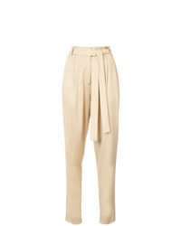 Pantalon carotte marron clair Jason Wu GREY