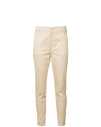 Pantalon carotte marron clair Loveless