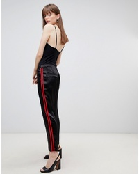 Pantalon carotte noir ASOS DESIGN