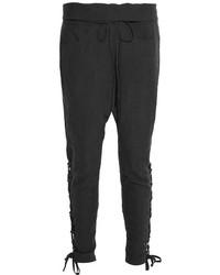Pantalon carotte noir Balmain