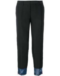 Pantalon carotte noir Dsquared2