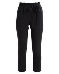 Pantalon carotte noir Miss Selfridge