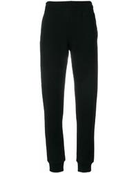 Pantalon carotte noir Moschino