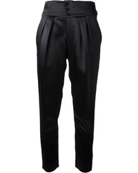 Pantalon carotte noir Saint Laurent