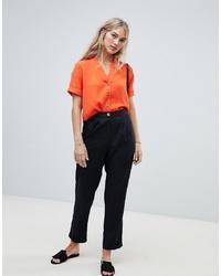 Pantalon carotte noir Vero Moda