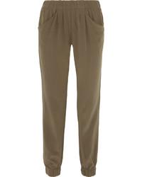 Pantalon carotte olive original 10580894