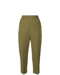 Pantalon carotte olive Rick Owens