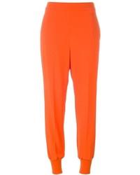 Pantalon carotte orange