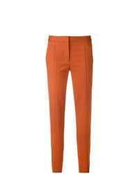 Pantalon carotte orange Tory Burch