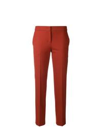 Pantalon carotte orange Twin-Set