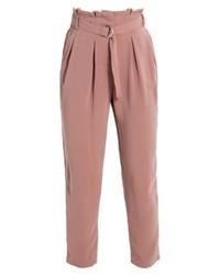 Pantalon carotte rose Even&Odd