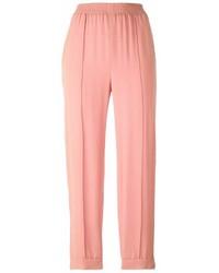 Pantalon carotte rose Marni