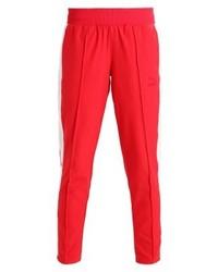 Pantalon carotte rouge Puma