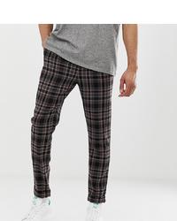 Pantalon chino à carreaux multicolore ASOS DESIGN
