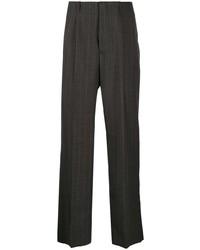 Pantalon chino à rayures verticales gris foncé Our Legacy