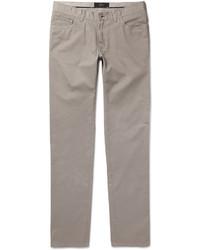 Pantalon chino argenté Brioni