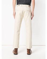 Pantalon chino beige Fortela