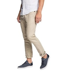 Pantalon chino beige edc by Esprit