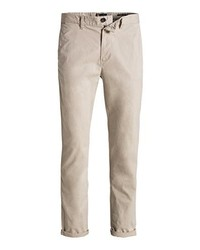 Pantalon chino beige Esprit