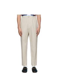 Pantalon chino beige Gucci
