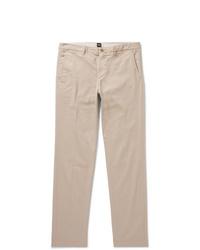Pantalon chino beige Hugo Boss