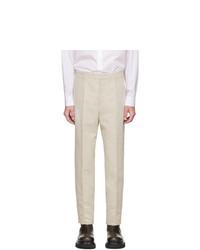 Pantalon chino beige Jil Sander
