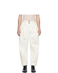 Pantalon chino beige Lemaire
