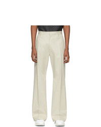 Pantalon chino beige Marcelo Burlon County of Milan