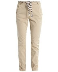 Pantalon chino beige Tom Tailor