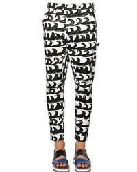 Pantalon chino blanc et noir