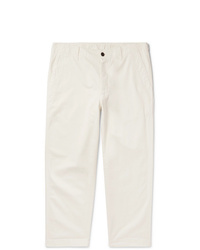Pantalon chino blanc Albam