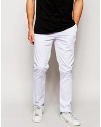 Pantalon chino blanc Asos