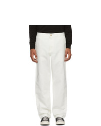 Pantalon chino blanc CARHARTT WORK IN PROGRESS