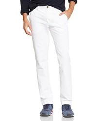Pantalon chino blanc Chevignon