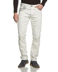 Pantalon chino blanc Cipo & Baxx