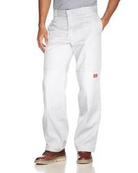 Pantalon chino blanc Dickies
