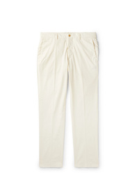Pantalon chino blanc Dunhill
